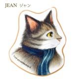 小毛巾 - 藍頸巾