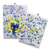 A4 文件夾-藍玫瑰