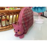 小錢包 - 粉紅色 - 直條
