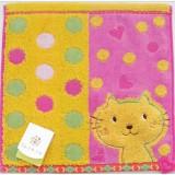 小方巾 - 黃色併粉紅色