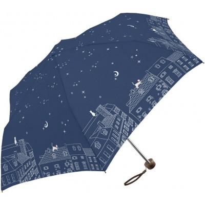 晴雨兩用輕便縮骨遮 - 星空下 - 寶藍色