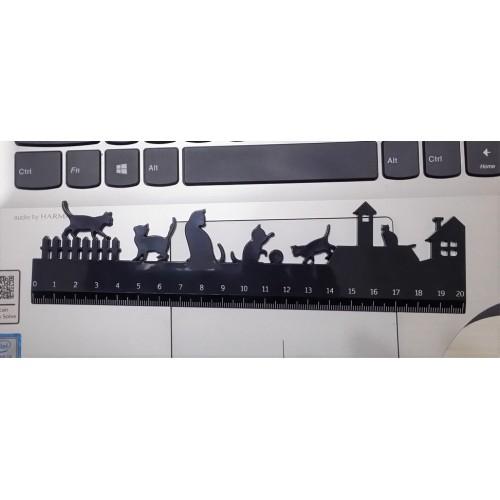 貓貓間尺 - 黑色