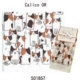 三色貓沖涼巾 - 橙 - 日本製