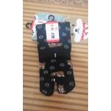 女裝姆趾短襪- 黑色 - 日本製