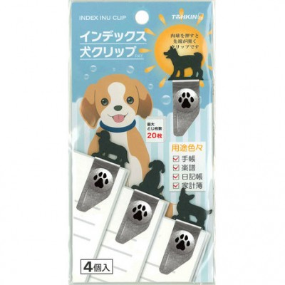 小夾/書籤 - 狗狗 - 日本製