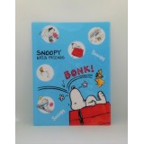 Snoopy A4資料夾 - 躺在屋頂