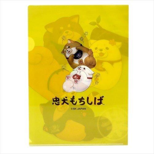 四隻柴犬A4文件夾 - 日本製