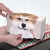 秋田犬紙巾盒套