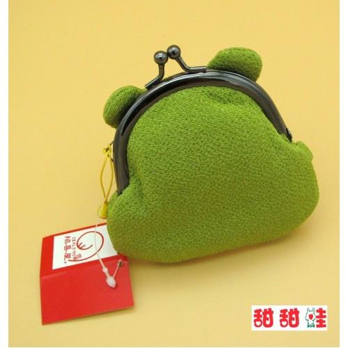 小錢包 - 口金 - 淺綠色