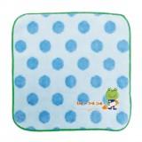 小毛巾 - 藍波波 - 日本製