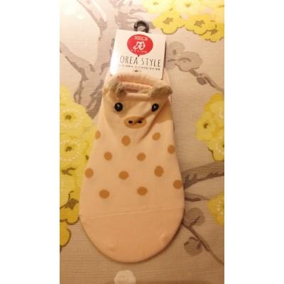 女裝船襪 - 小豬 - 台灣製