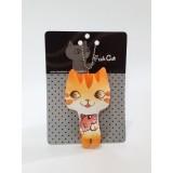貓貓吊飾 - 橙色