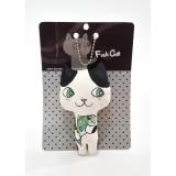 貓貓吊飾 - 綠色