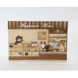 明信片 - 貓貓咖啡店