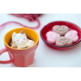 日本製貓貓棉花糖 - 心形 (2月25日23:00截止訂購, 數量有限)