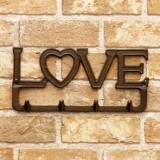 LOVE 掛牆鈎